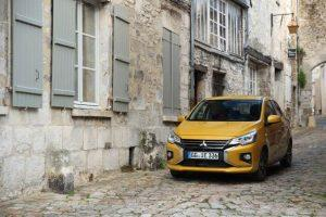Mitsubishi Space Star: City-Flitzer mit frischem Design