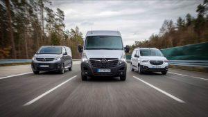 Opel 2020: Vorteilspakete für Combo, Vivaro und Movano