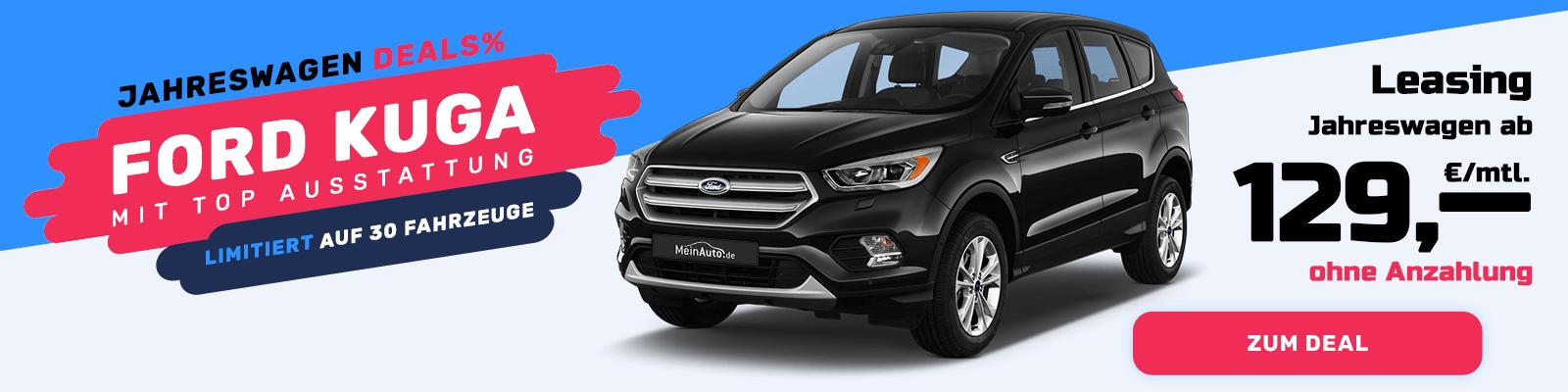 Ford Kuga 2 Als Gebrauchtwagen Perfekt Im Leasing Meinauto De