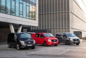 Mercedes-Benz Vans: Neue Varianten für das Frühjahr