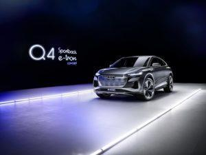 Audi Q4: Sportback e-tron concept vorgestellt