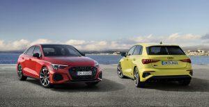 Audi: Mehr Sportlichkeit für den S3 Sportback und die S3 Limousine