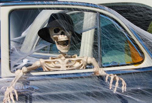 Autos Im Halloween Look Was Ist Erlaubt Meinauto De