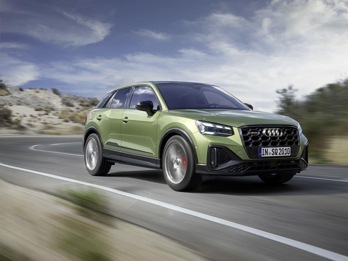 Audi SQ2: Das Sport-SUV im frischen Gewand