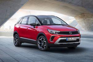 Opel Crossland: Nächstes Modell mit neuem Opel-Vizor