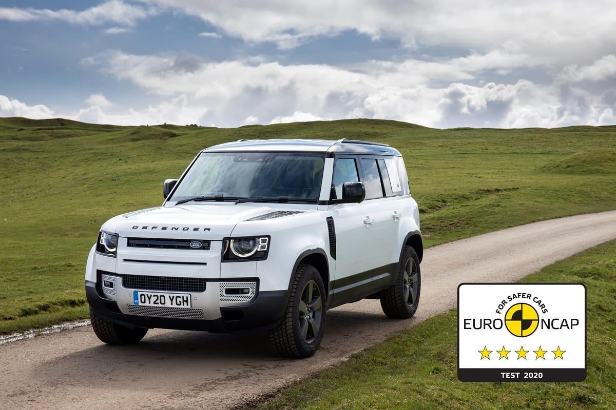 Land Rover Defender: Fünf Sterne im NCAP Crashtest