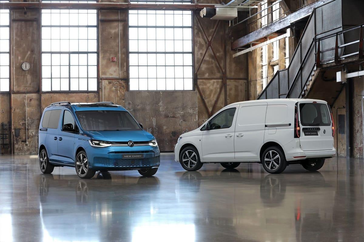 VW Caddy: Jetzt auch als Maxi und Benziner