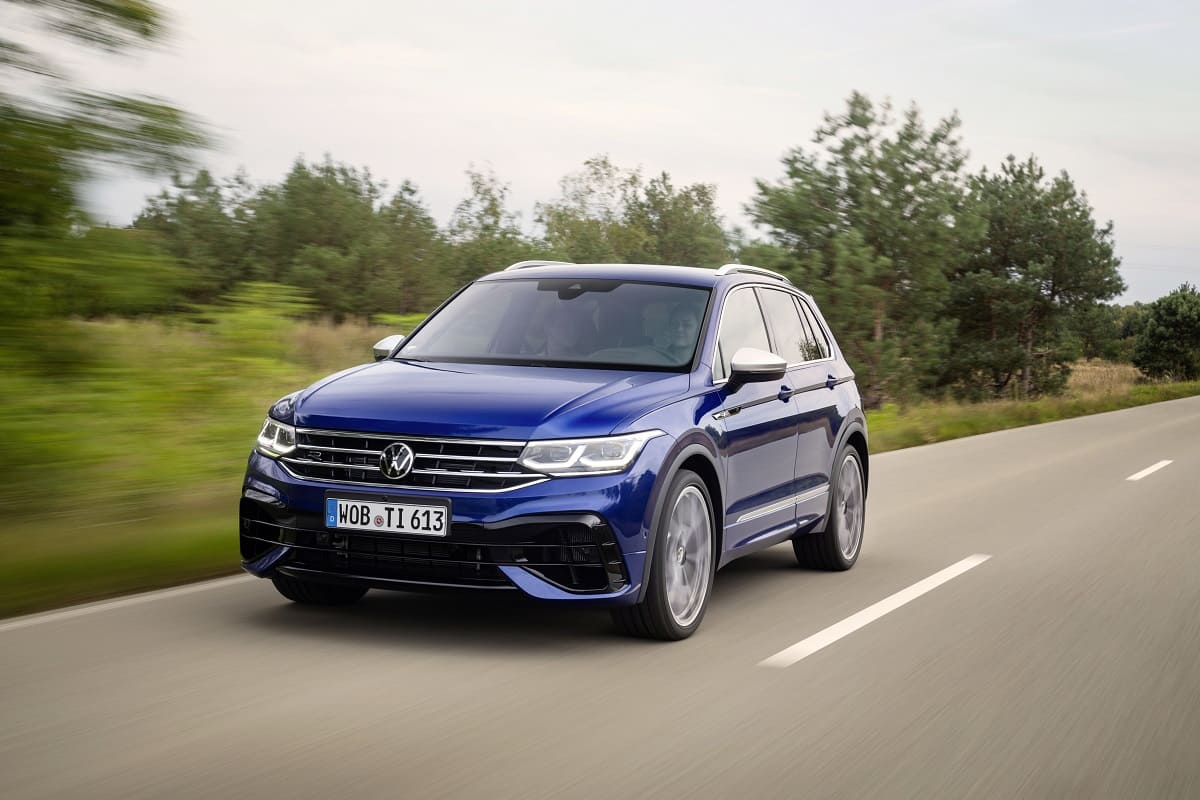 VW Tiguan R: Performance-Version des Erfolgs-SUV
