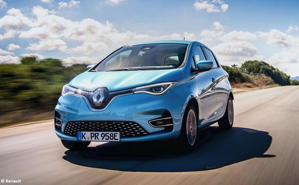 Renault ZOE bleibt meistverkauftes E-Auto in Deutschland