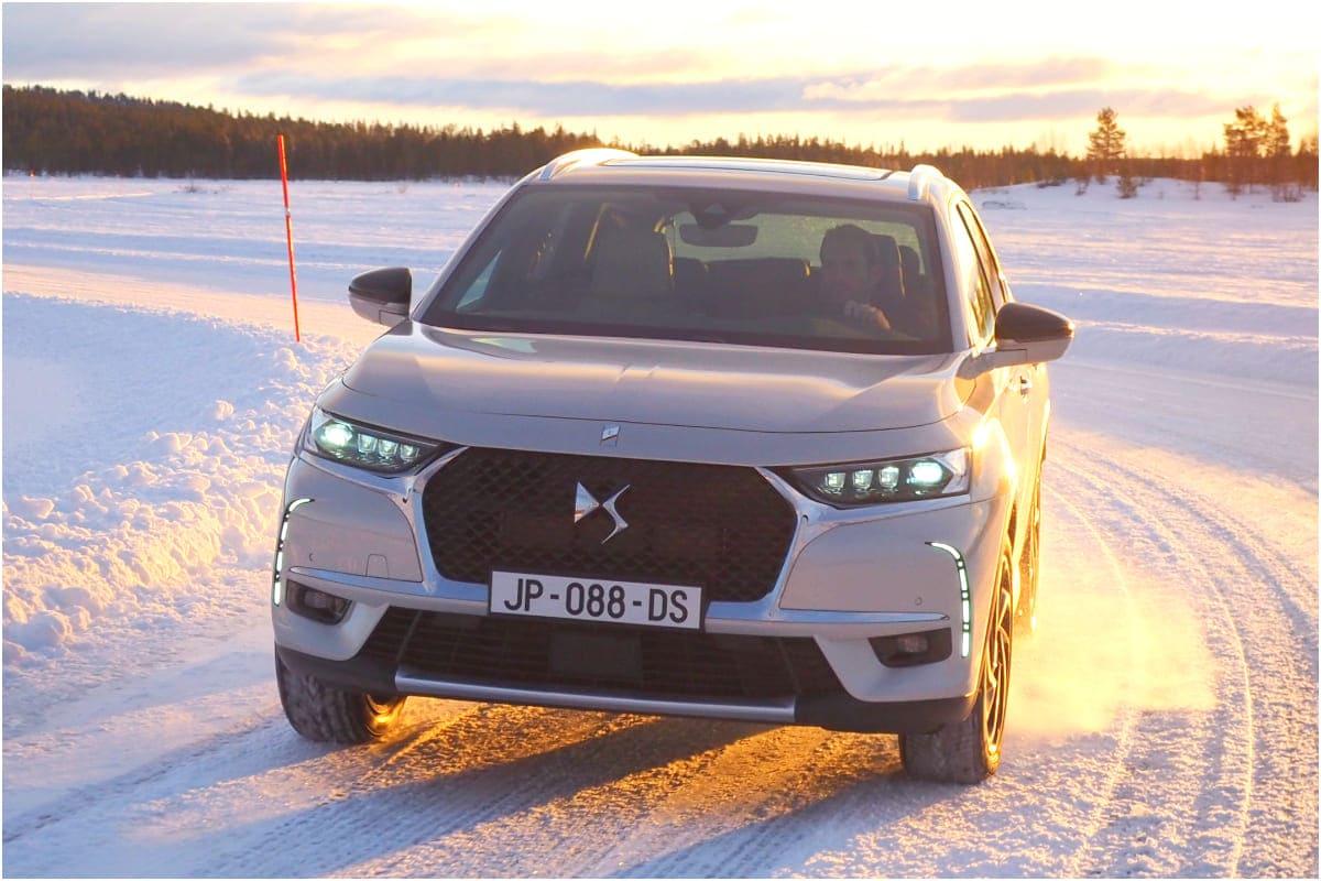DS 7 Crossback E-Tense 4×4: Fahrfreude auch im Winter