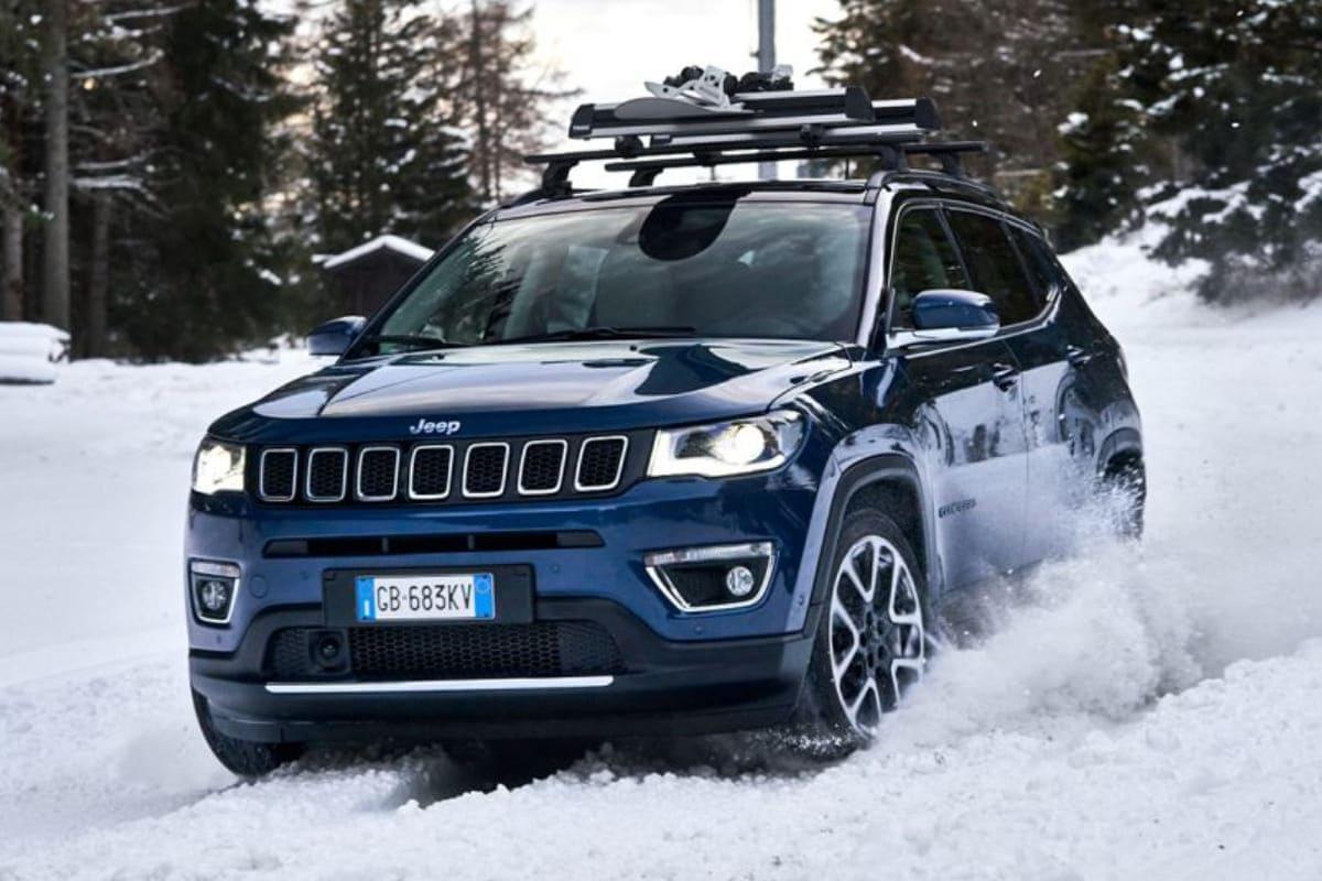 Jeep 4xe-Modelle: Sicher bei Schnee und Eis