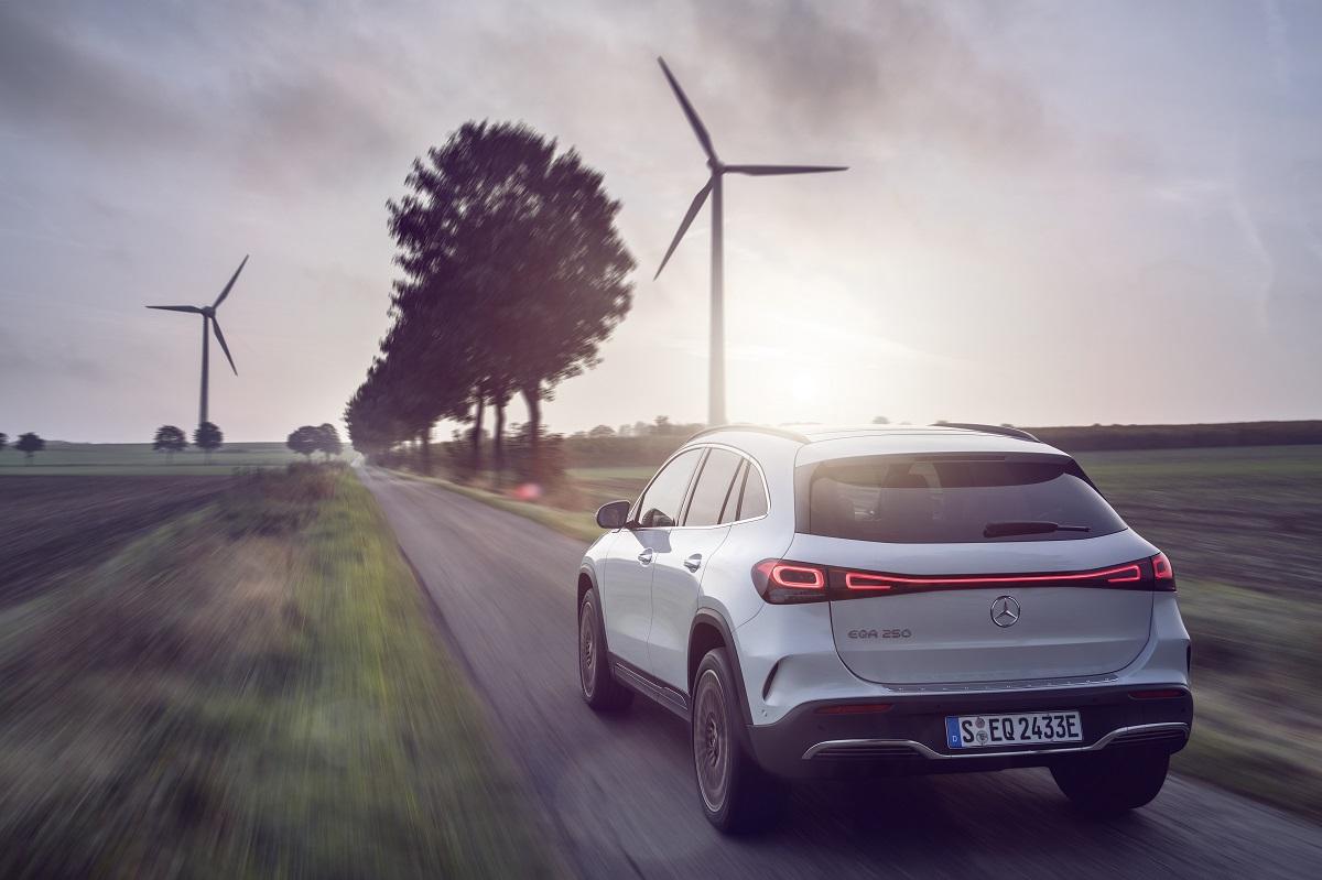 Mercedes-EQA: Start frei für den kompakten Stromer