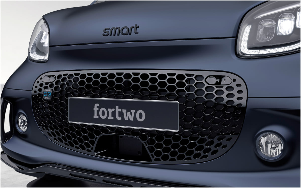 "Smart EQ fortwo: Neues Sondermodell ""edition bluedawn"""