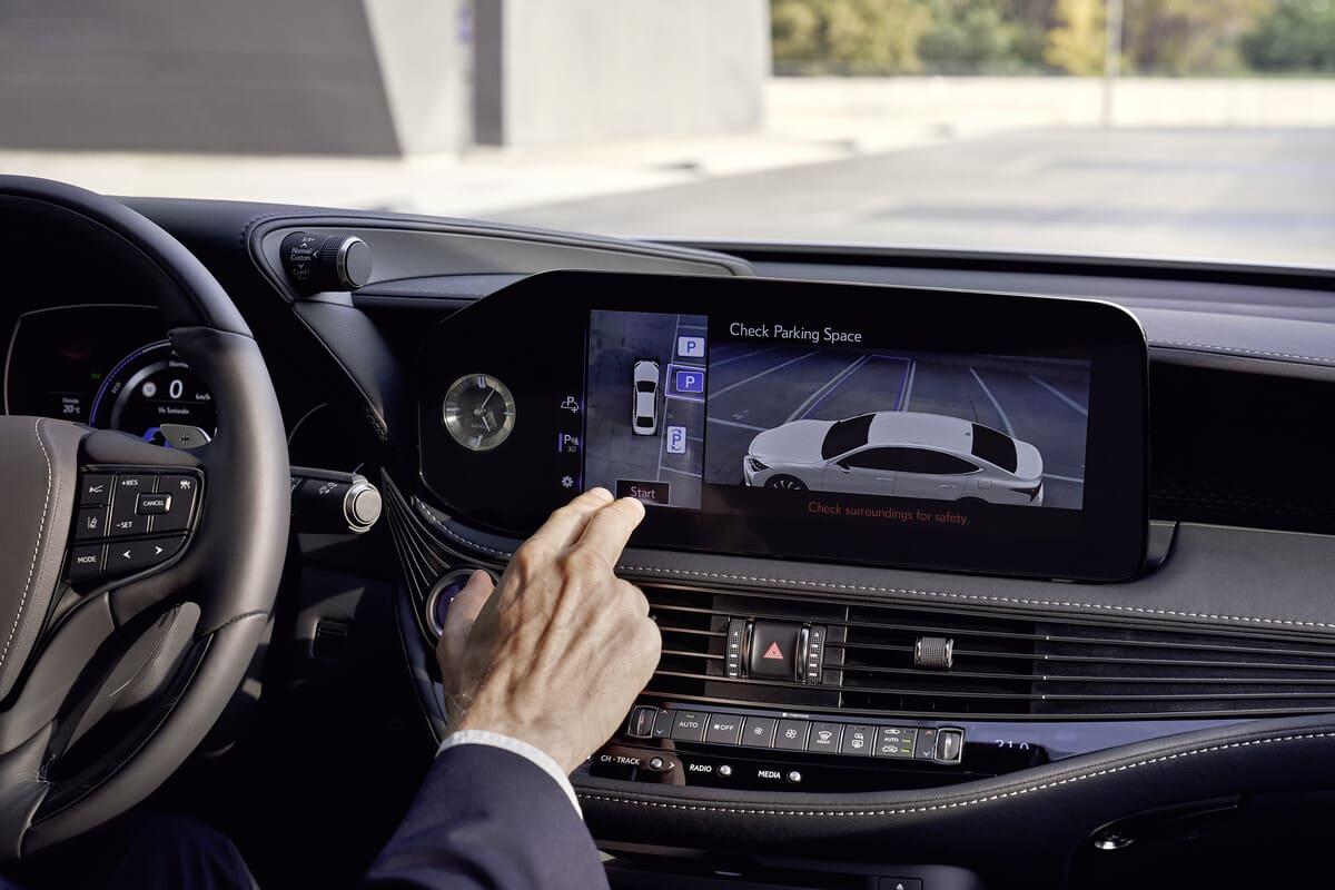 Lexus LS: Vogelperspektive für mehr Sicherheit
