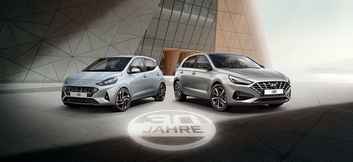 Hyundai: Exklusive Sondermodelle zum 30. Geburtstag