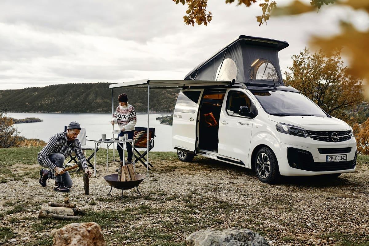 Opel Zafira Life: Jetzt auch als Crosscamp Lite