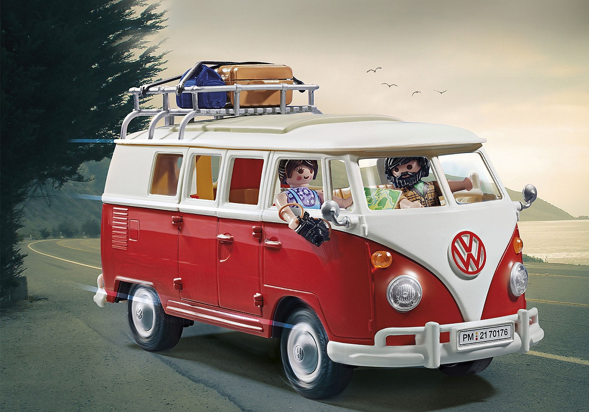 VW-Klassiker aus Plastik: Playmobil baut Bulli und Käfer nach
