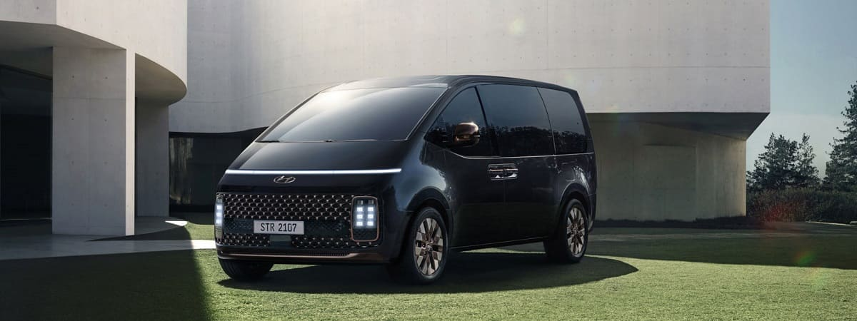 Hyundai Staria: Neuer Van mit flexiblem Innenraum