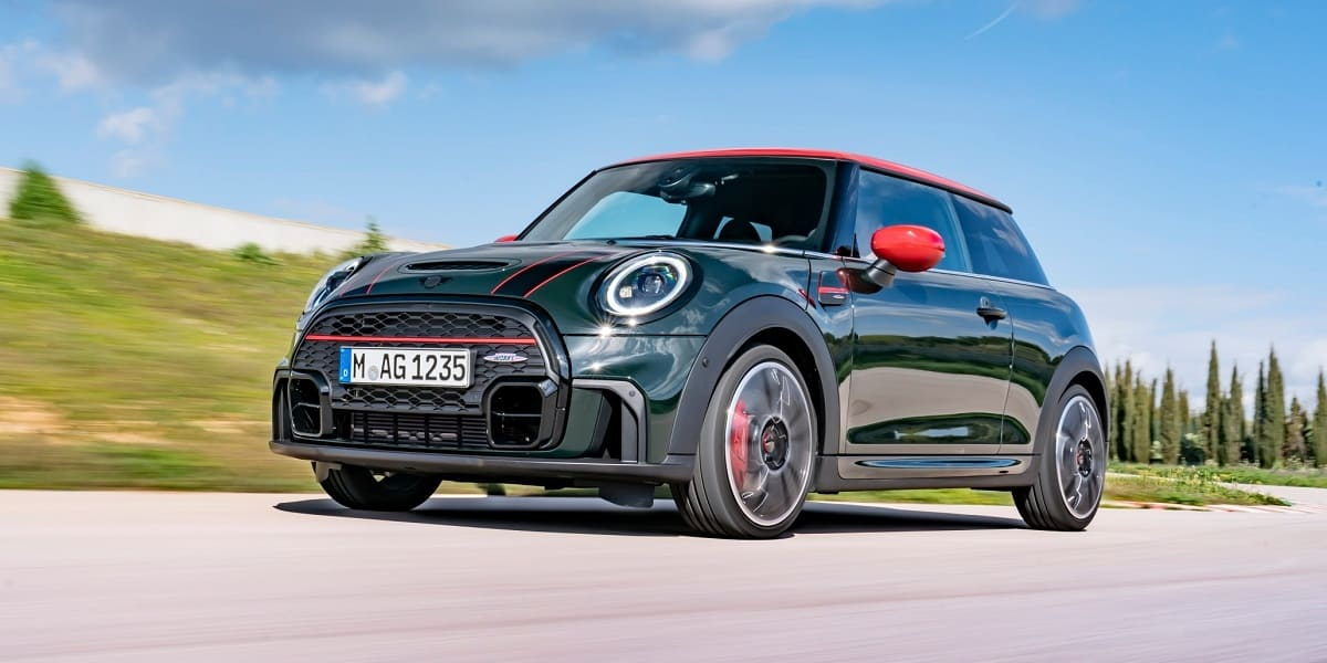 Modell-Update für den MINI John Cooper Works