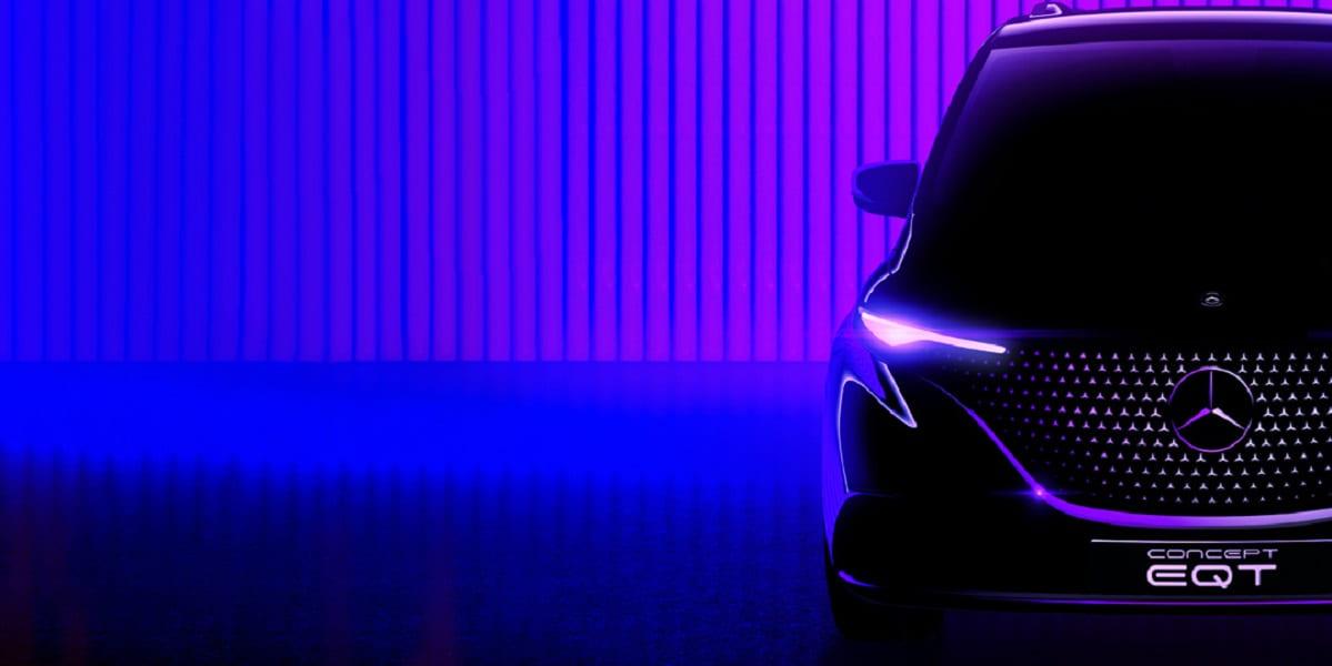 Mercedes EQT: Premium-Small-Van vor der Premiere