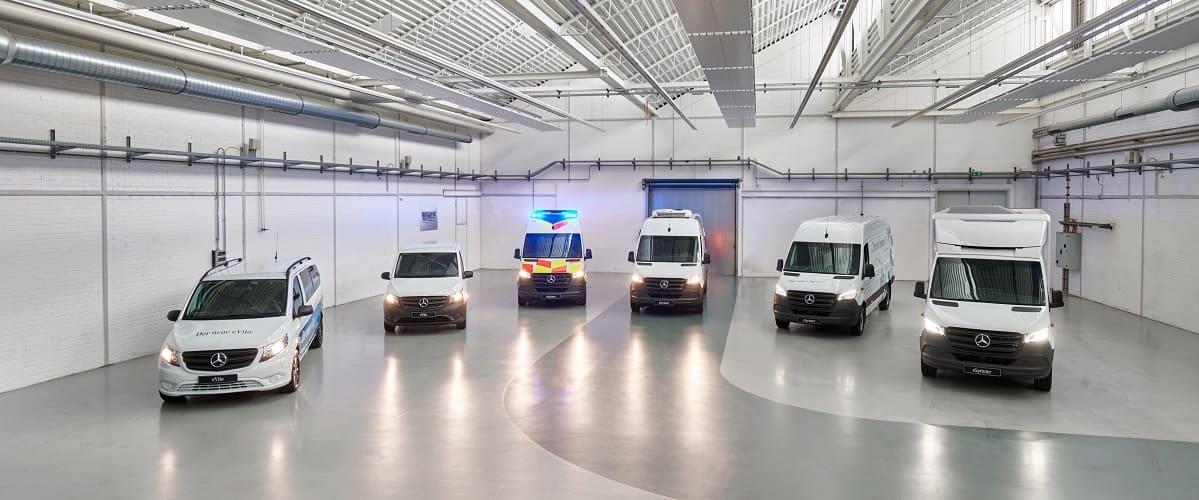 Mercedes-Benz baut Van-Elektrifizierung weiter aus