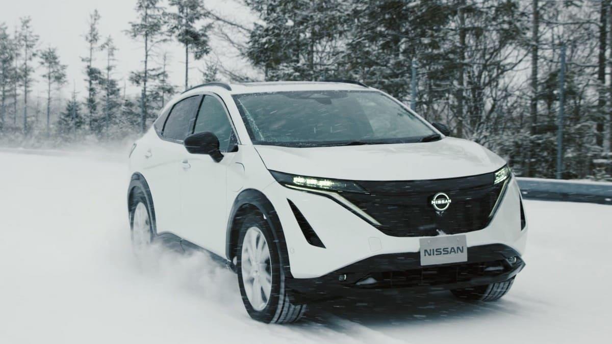 Nissan Ariya: Testprogramm sichert komfortables Fahrerlebnis