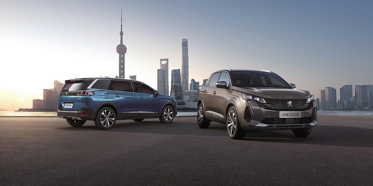 Peugeot zeigt seine chinesische SUV-Familie