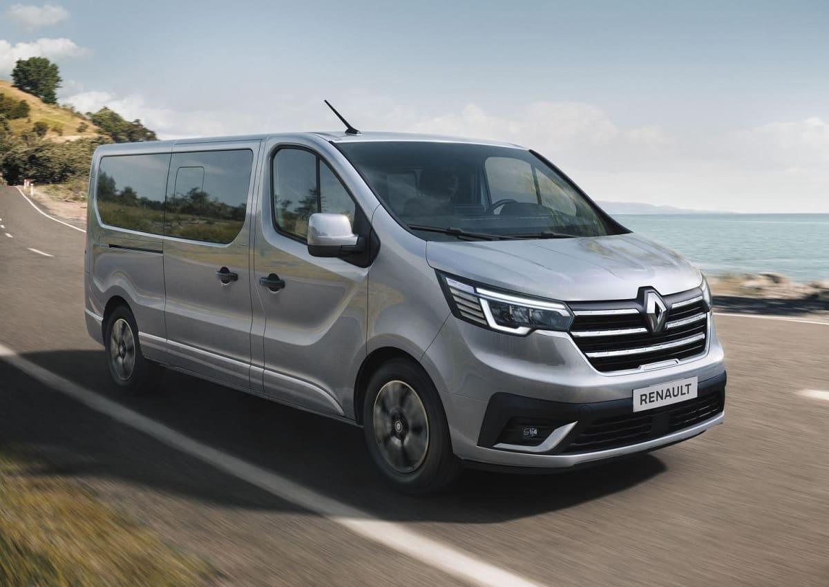 Renault Trafic Combi: Modellpflege für mehr Infotainment