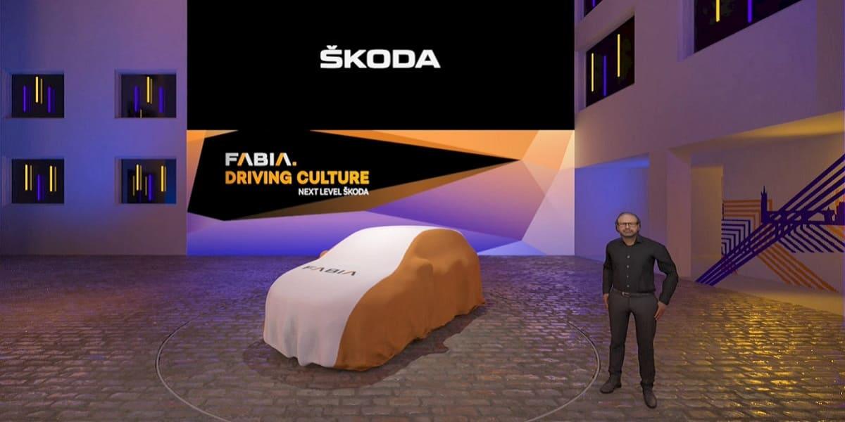 Skoda Fabia wird in virtueller Ausstellung präsentiert