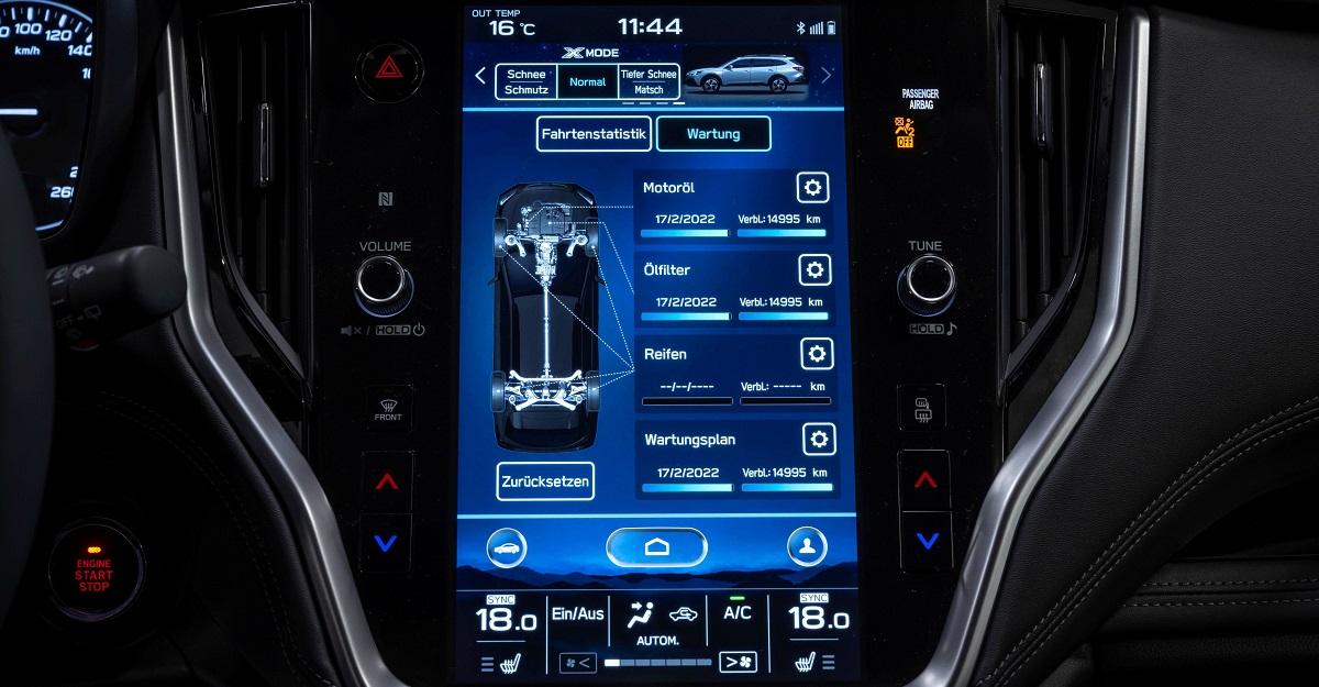 Subaru Outback: Neue Infotainment-Generation vorgestellt