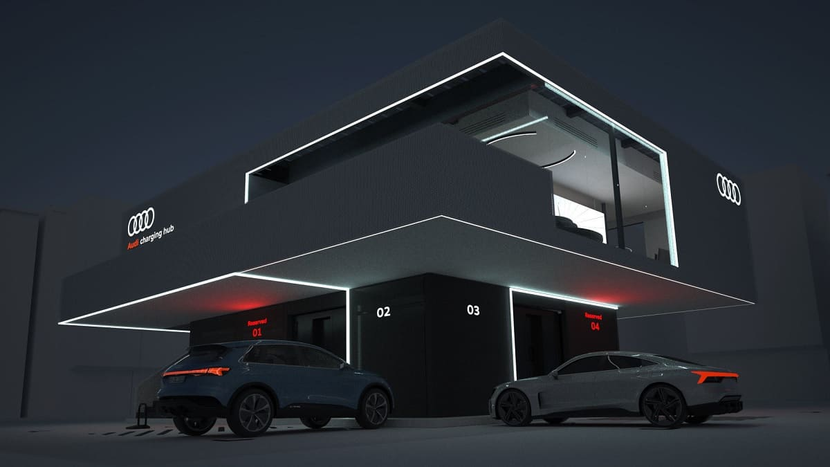 Audi: Neues Konzept für Schnellladen