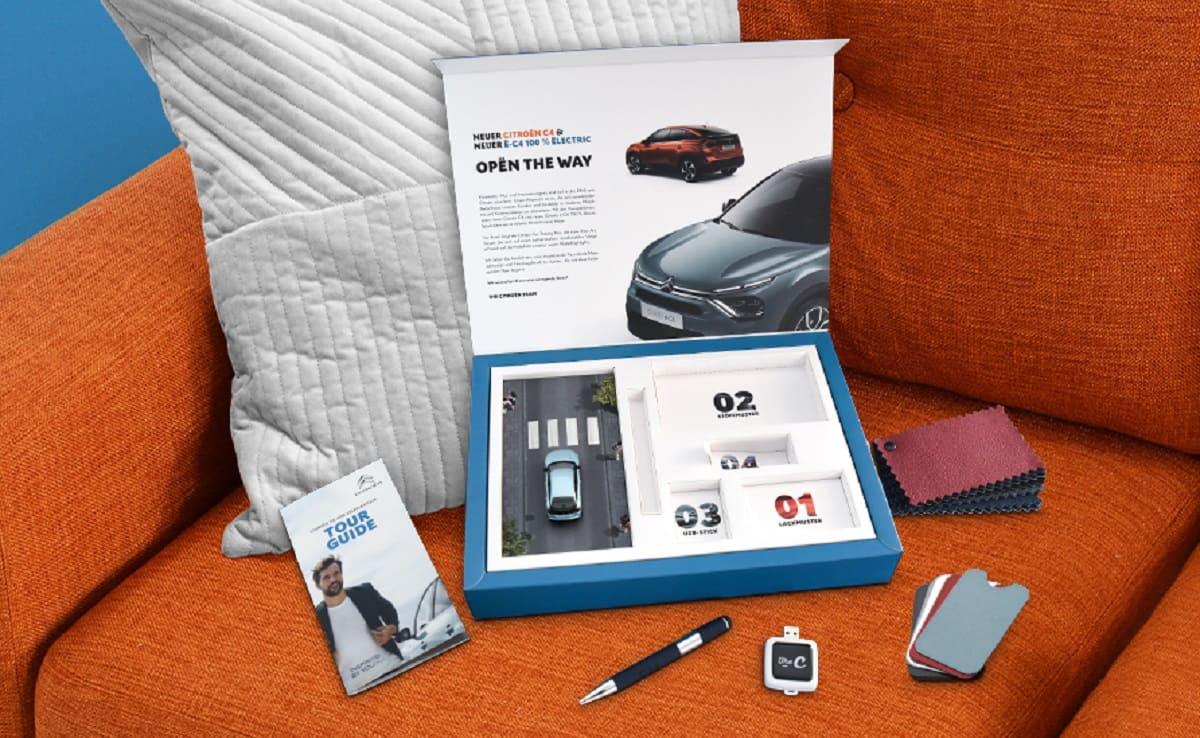 Citroen C4: Car Tasting Box für zu Hause