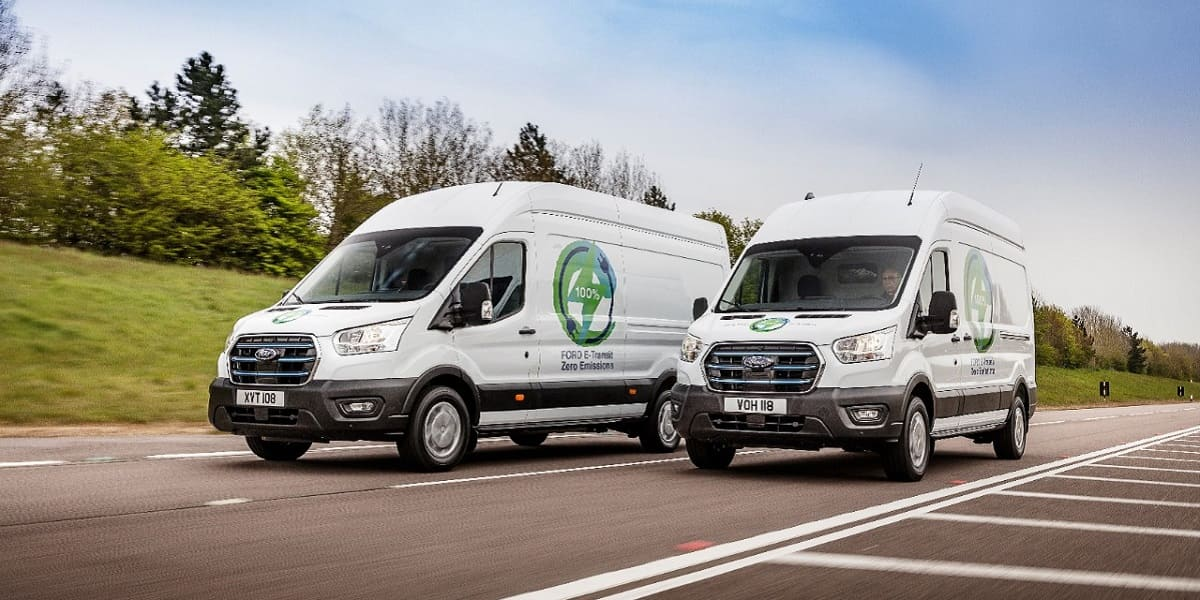 Ford: Neuer E-Transit soll sich im Praxistest beweisen