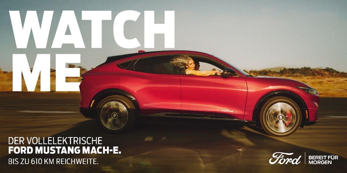 Ford Mustang Mach-E wird zum Anschauungsobjekt