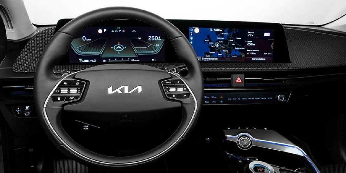 Kia EV6: Gekrümmte Nummer im Cockpit