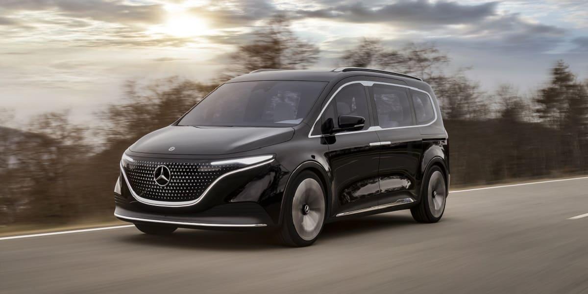 Mercedes Concept EQT und T-Klasse: Hochwertigkeit im Small-Van-Segment