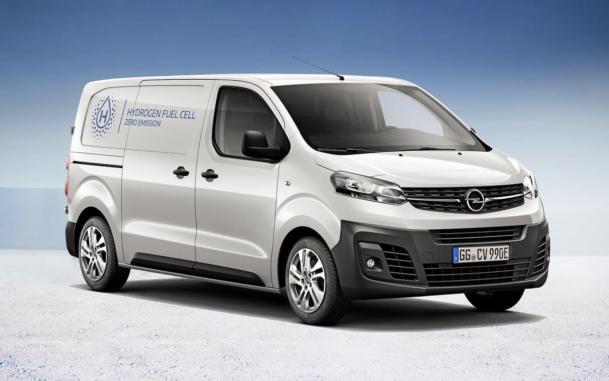 Opel stellt den Vivaro-e Hydrogen mit Brennstoffzelle vor