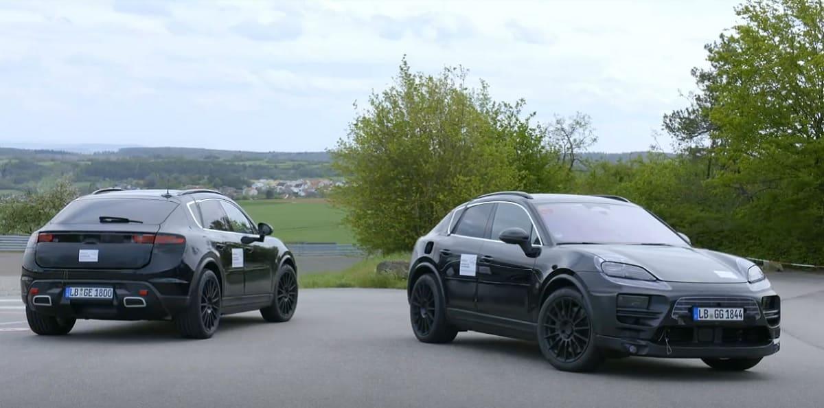 Porsche Macan: Erste Prototypen des neuen E-SUV unterwegs