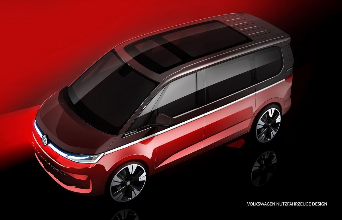 Ausblick auf den neuen VW Multivan: Der Bulli-Linie treu geblieben