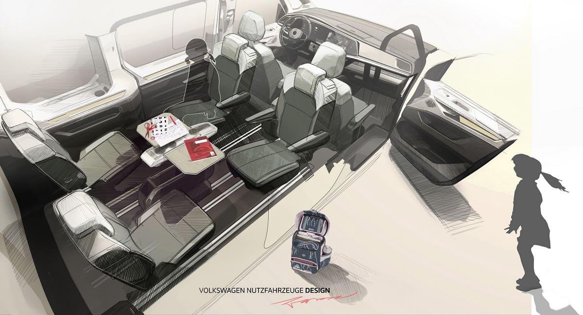 VW T7 Multivan: Neuer Tisch als Multitool