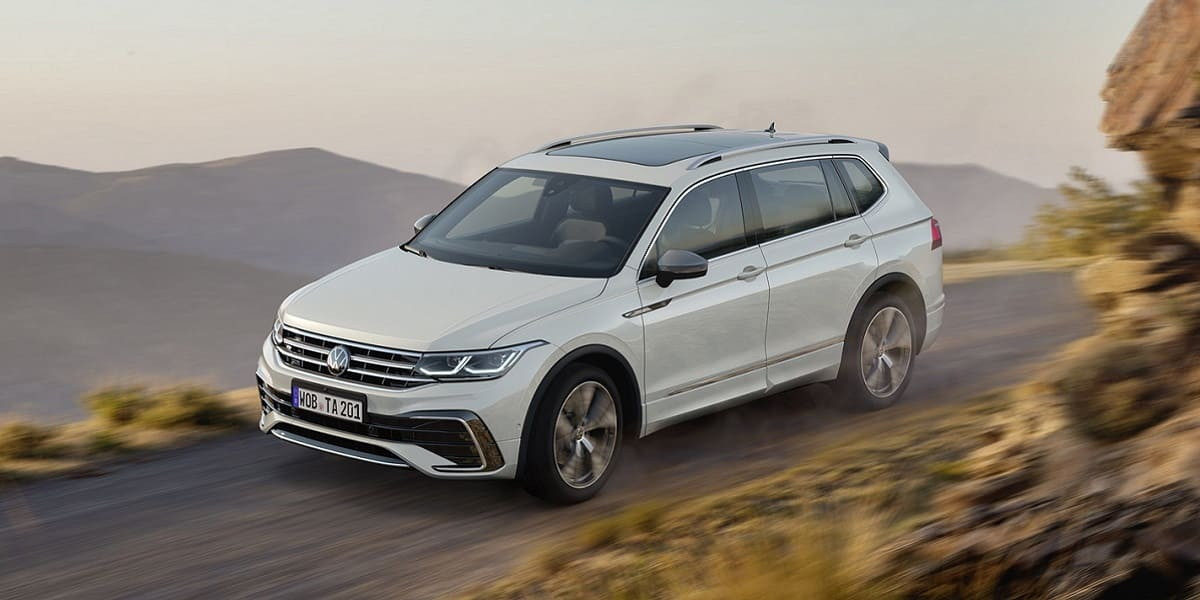 Umfassendes Technologie-Update für den VW Tiguan Allspace