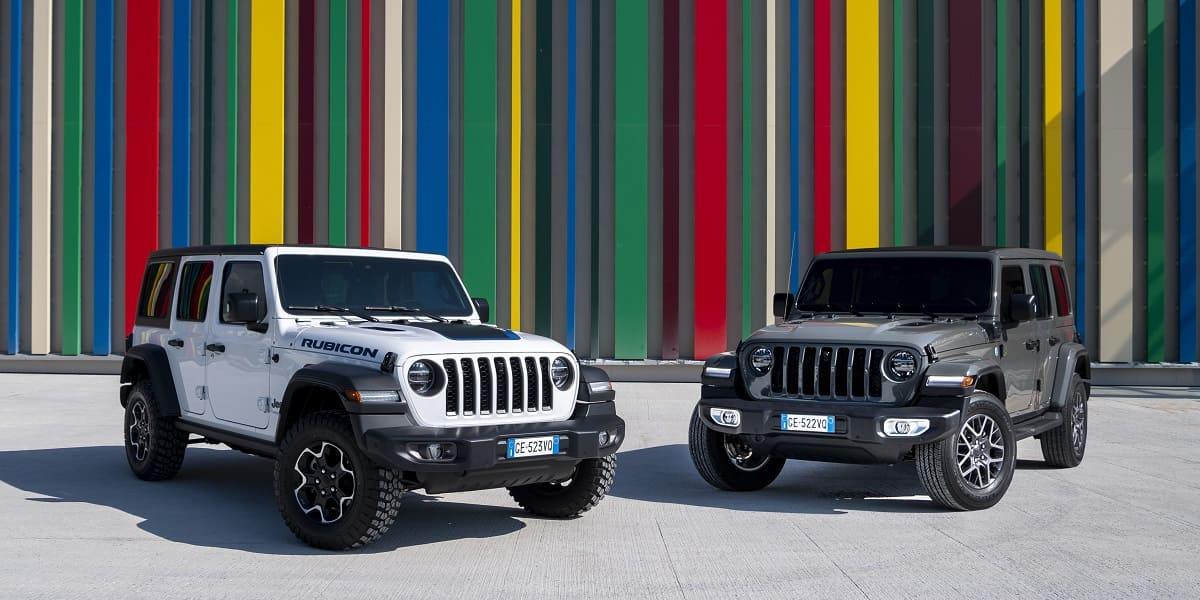Jeep Wrangler Unlimited 4xe: Der Geländewagen wird elektrisch
