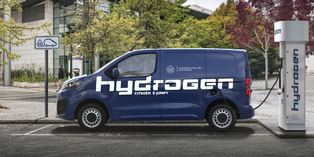 Citroen e-Jumpy Hydrogen: Wasserstoff-Transporter ohne Kompromisse