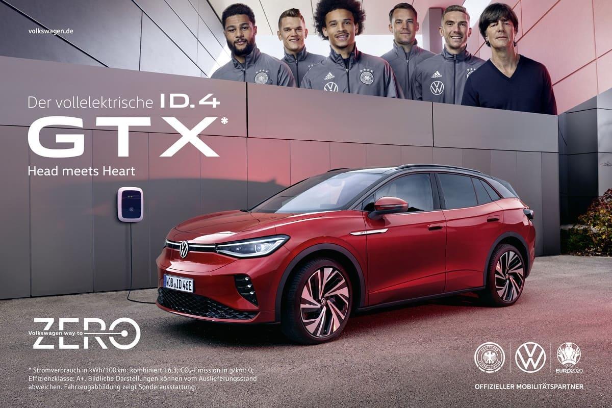 VW ID.4 GTX: Doppelpass mit der Nationalmannschaft