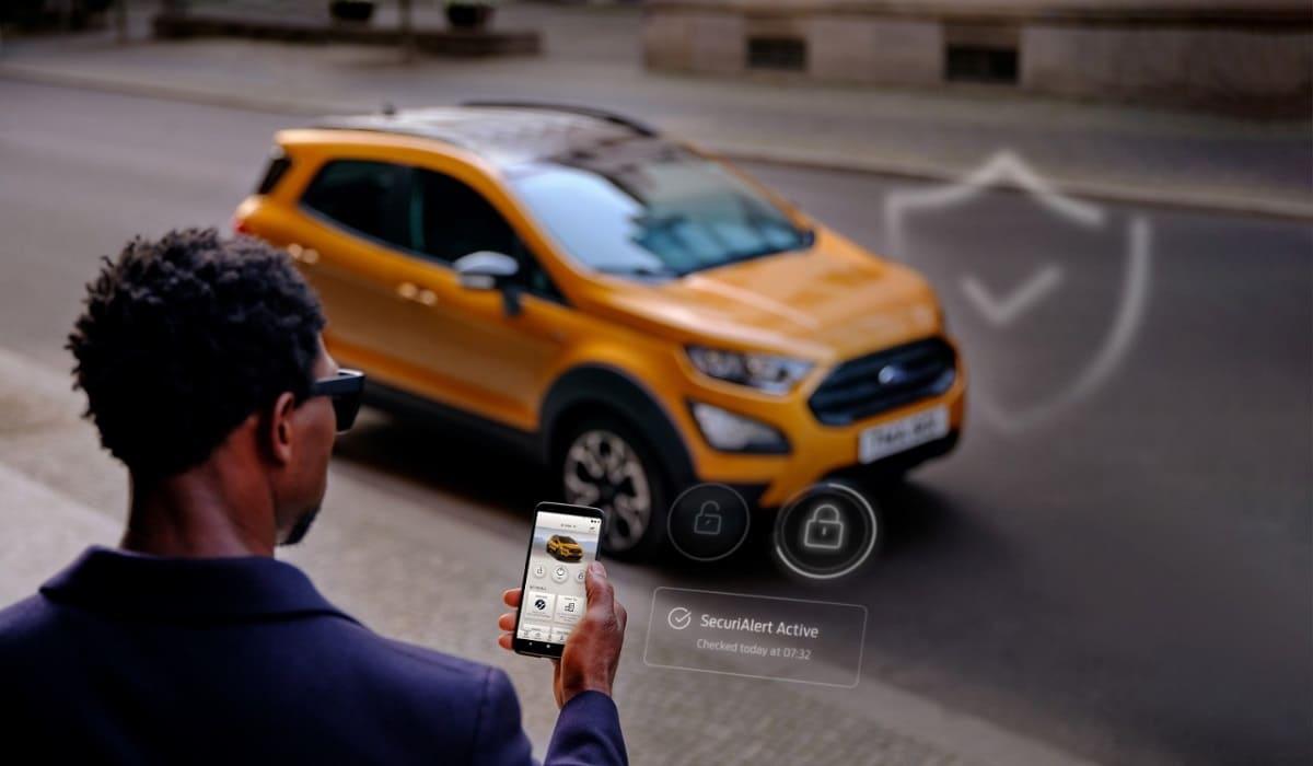 Ford: Neues Sicherheitssystem SecuriAlert informiert per Smartphone