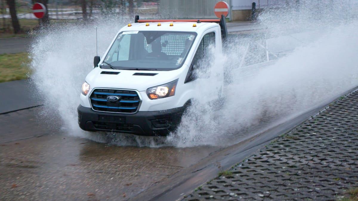 Ford E-Transit: Klima- und Belastungstest im Vorfeld der Markteinführung
