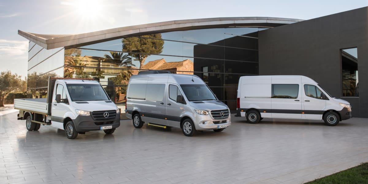Mercedes Sprinter: Neuer Motor sorgt für höheren Komfort