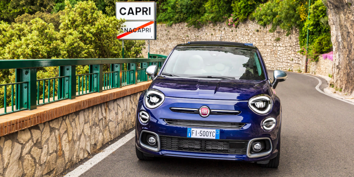 Fiat 500X Yachting: Open Air Version mit Soft-Top
