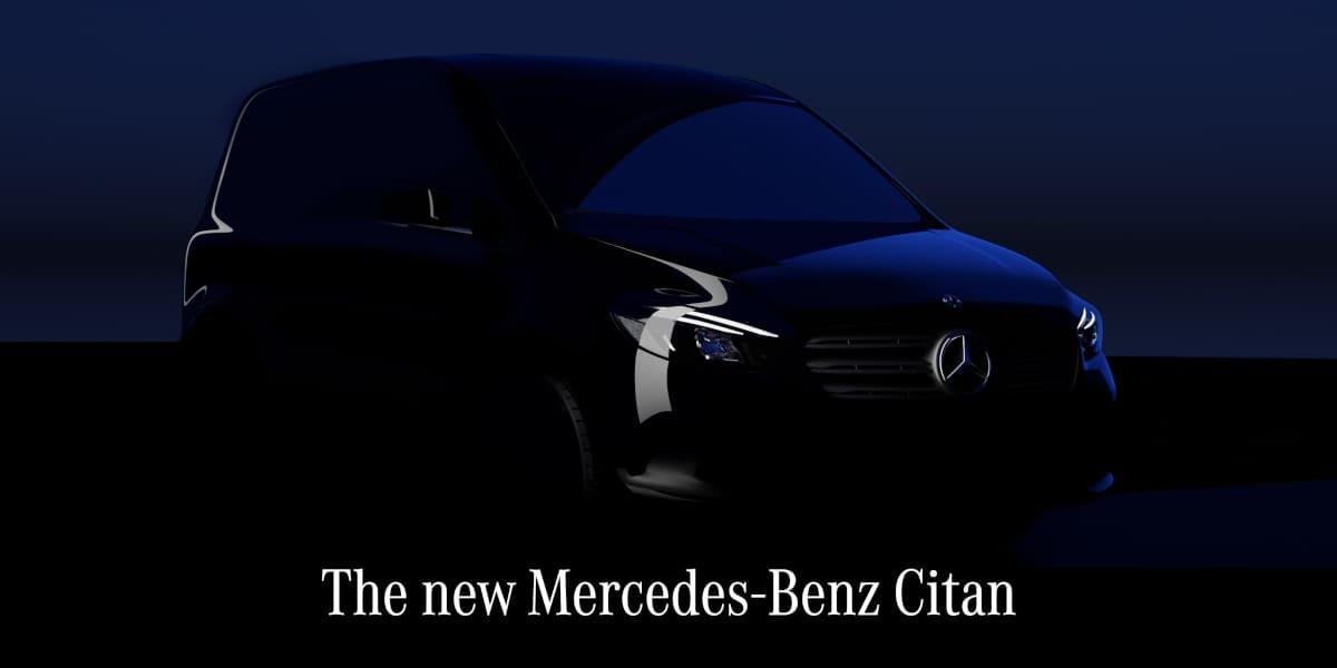 Mercedes-Benz Citan: Digitale Premiere auf der Mercedes me media