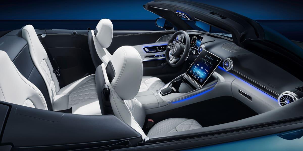Mercedes-AMG SL: Comeback der zweiten Sitzreihe